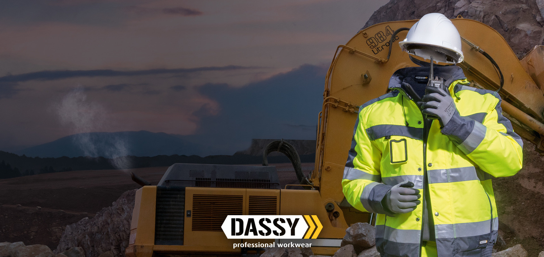Shop DASSY SAFETY - Stay safe in dark days#discover our high visibility collection