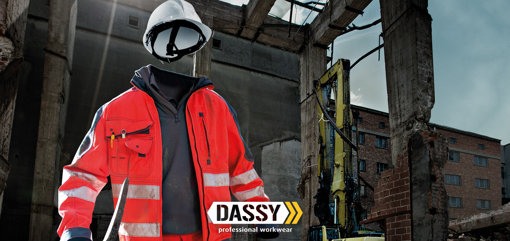 Shop DASSY SAFETY - High visibility clothing#Discover the new products#R#1