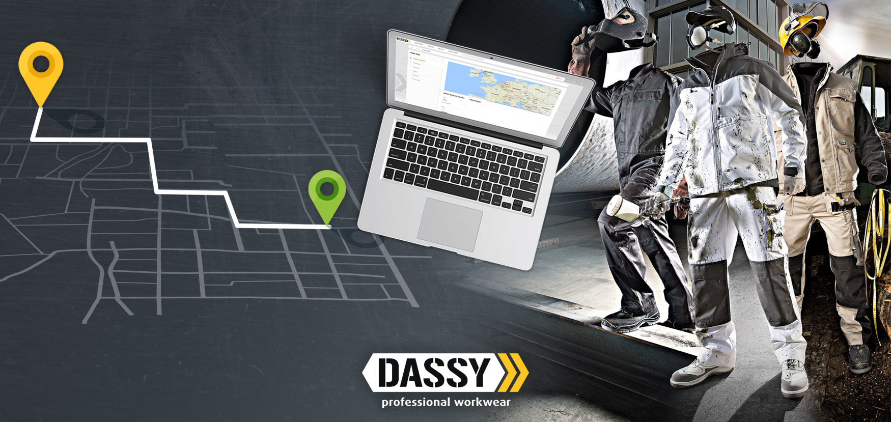 Shop STORE LOCATOR - Looking for DASSY workwear?#Find yournesers dealer!