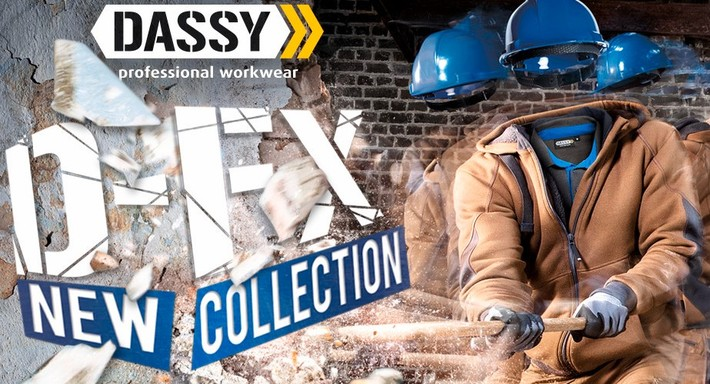 D FX: coming soon! DASSY professional workwear