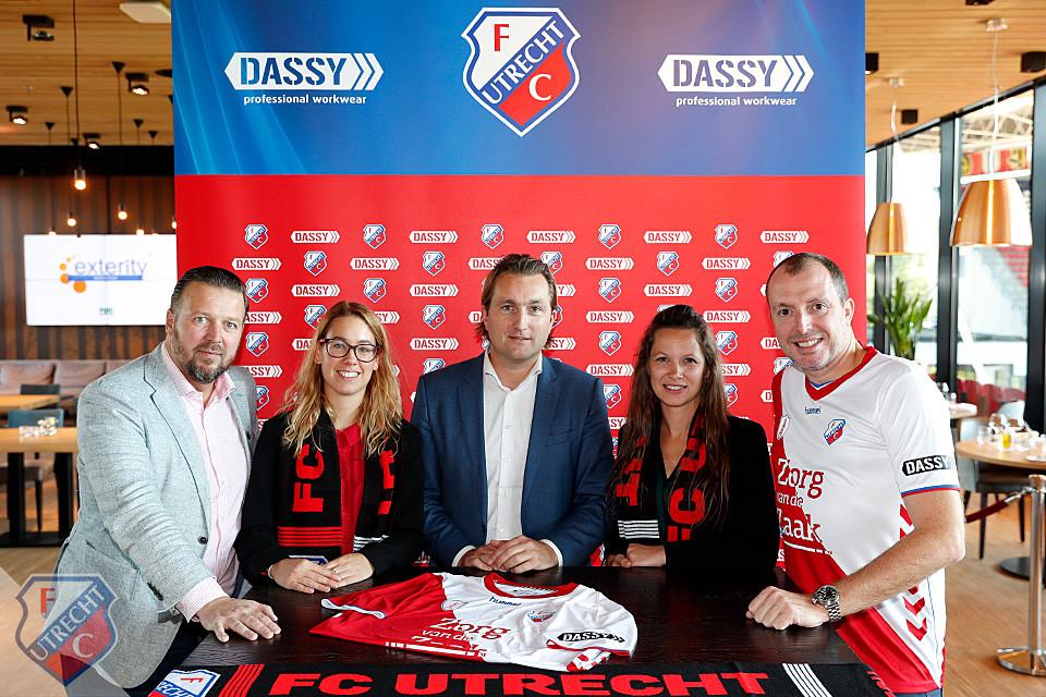 DASSY sponsor FC Utrecht