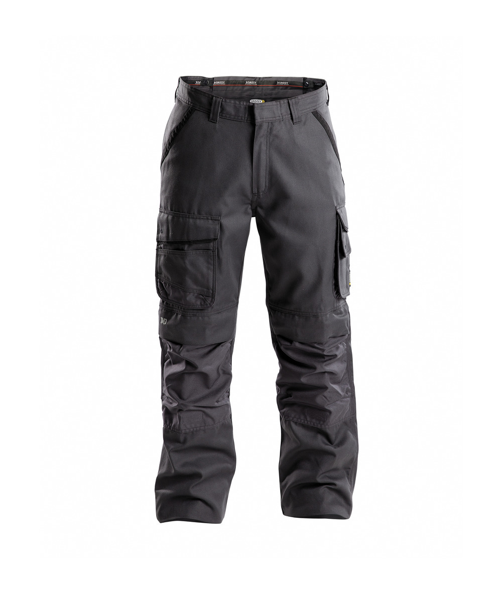 a60820fea5109 DASSY DASSY® Connor Pantalon de travail poches genoux en canvas